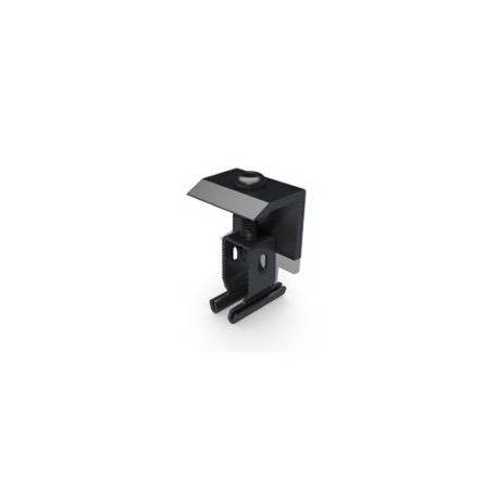 Renusol End Clamp+ 30 - 50mm Black
