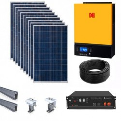 Kodak VMIII Off-grid/hybrid Lithium Ion Solar Kit - 5kW/3.5kWh Storage