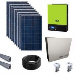 RCT VMIII Off-grid/hybrid Lithium Ion Solar Kit - 5kW/4.8kWh Storage/4.7KW Solar
