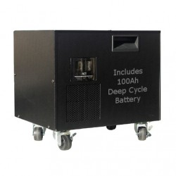 RCT MEGAPower 1kVA Power Trolley & 100Ah AGM Battery