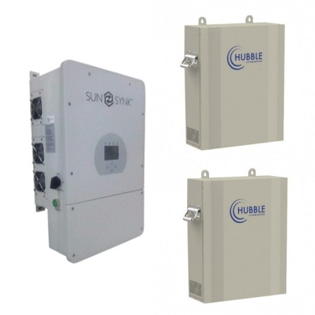 Sunsynk 8kw inverter - Hubble Li-ion 10kWh Package (Solar Ready)