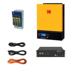 Kodak VMIII Lithium Ion Power Backup Kit - 3kW/2.8kWh Storage