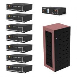 Pylontech PowerCube 24.8kWh Energy Storage Bank (7 batteries and BMS Unit)