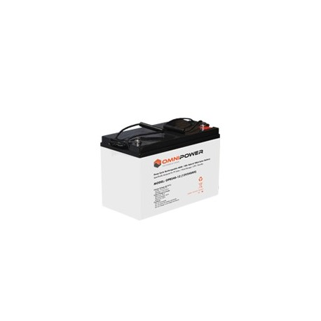 OmniPower 60Ah 12V Sealed Solar Battery
