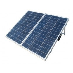 Foldable Solar Camping Kit 160W PWM Controller