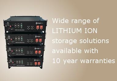 Lithium ion banner